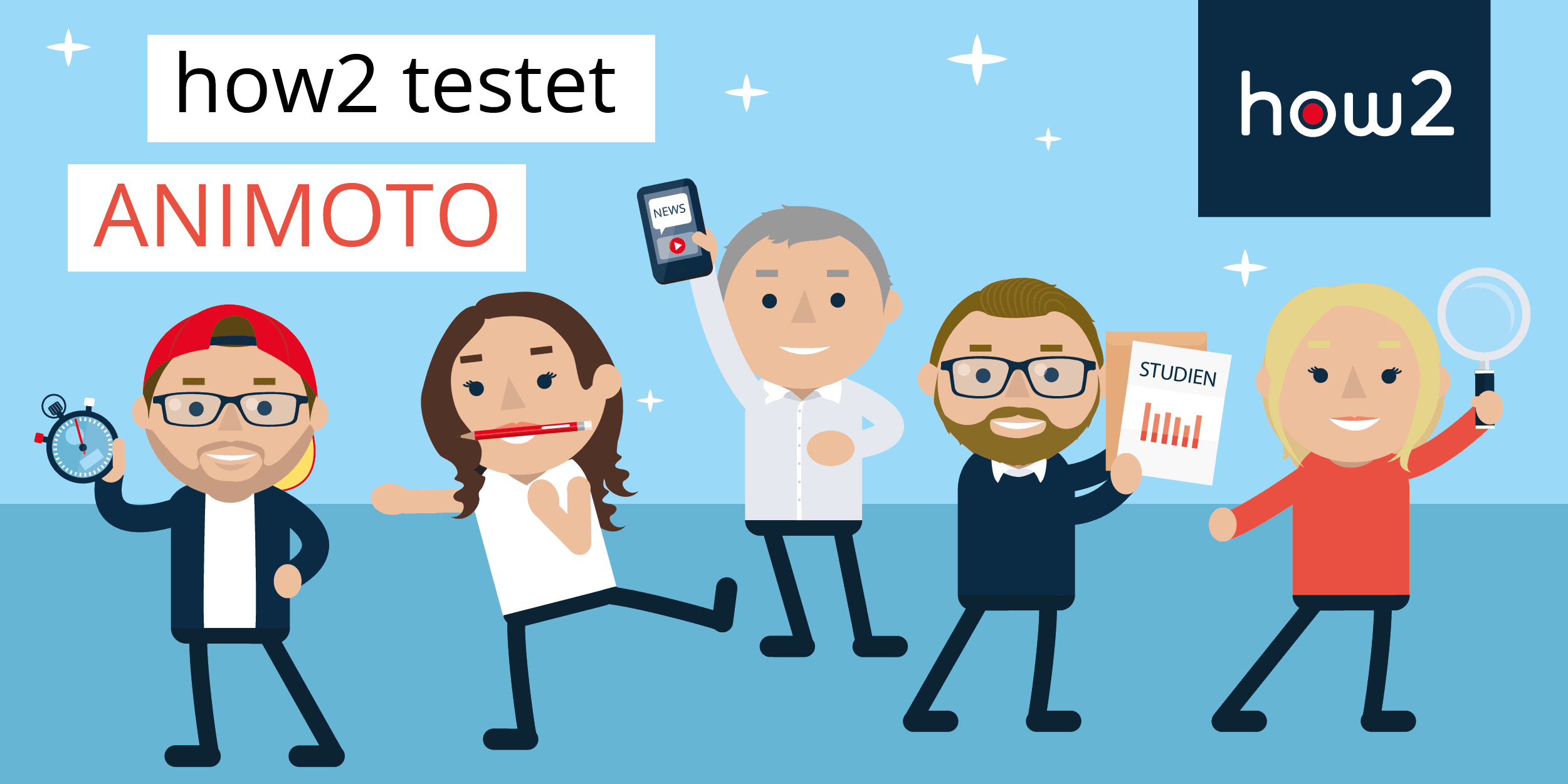 Unser Video-Marketing-Team testet: ANIMOTO